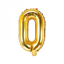 Ballon Lettre O Or 35cm