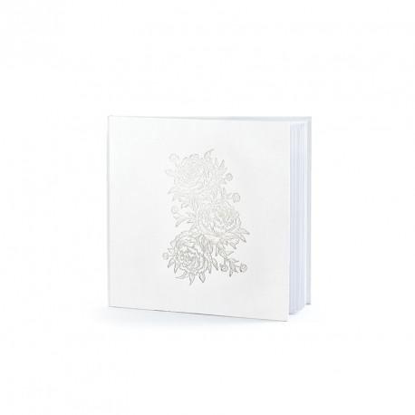 Livre d'or Pivoine 22 pages pour recueillir les mots tendres de vos invités.
