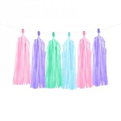 Guirlande Tassel Multicolores pour apporter une touche d'éclat à votre décoration.