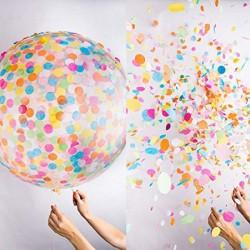 Ballon géant à confettis 1 mètre