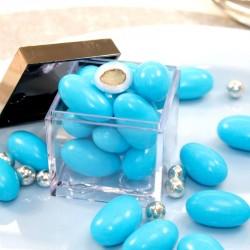 Dragées Amande Turquoise 1kg pas cher