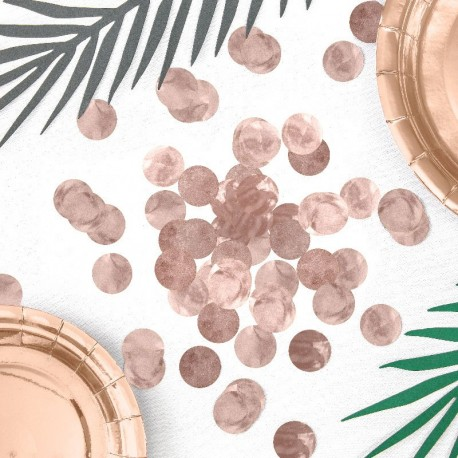 Confettis Rose Gold
