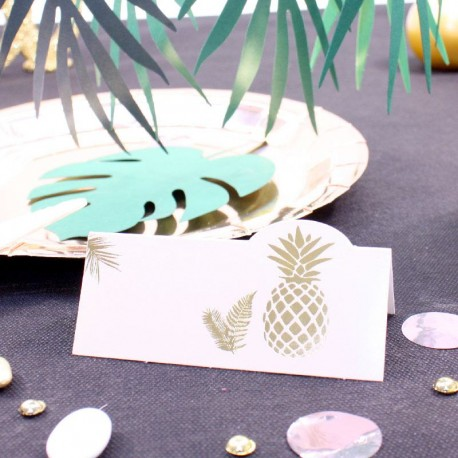 10 marque place Ananas Rose Gold