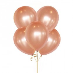 100 ballons Rose Gold 30cm