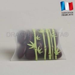 Pochette à dragées  bambou
