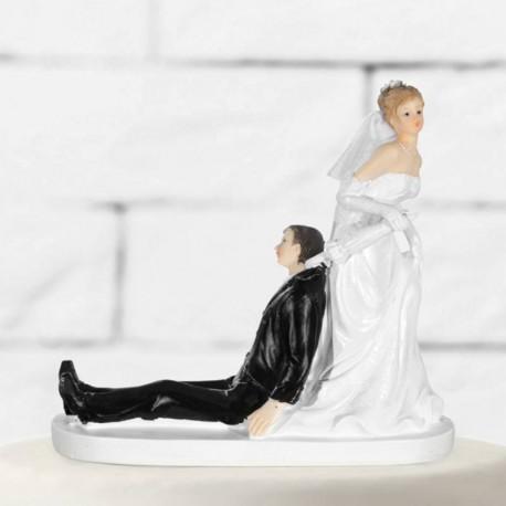 Figurine humoristique pour gateau de mariage