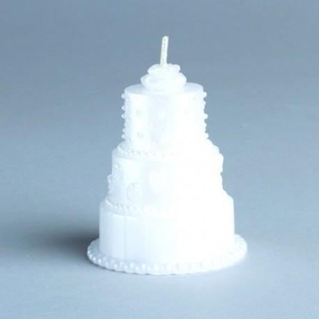 Bougie gâteau de mariés
