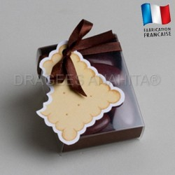 fourreau à dragées biscuit
