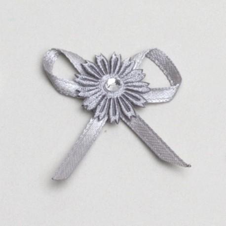 fleur grise décoration mariage