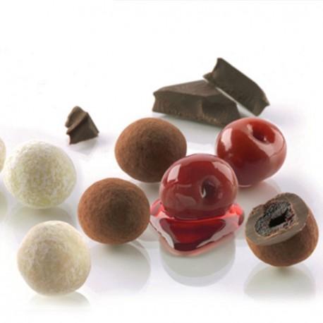 Dragées à la cerise confite et chocolat