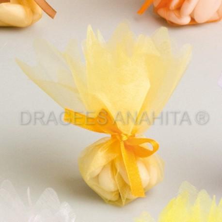 Ballotin à dragées moutarde