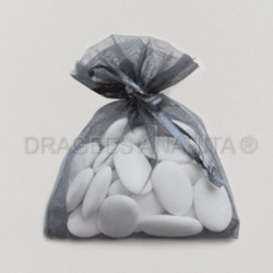 Sac organza gris