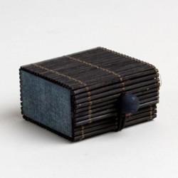 Contenant dragées bambou noir