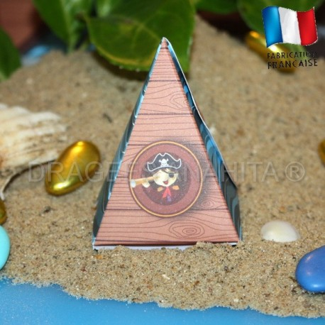 Pyramide à dragées petit pirate
