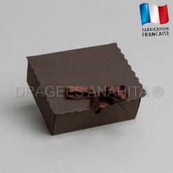 Ecrin à dragées chocolat