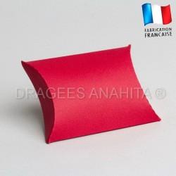 Pochette pour dragées rouge