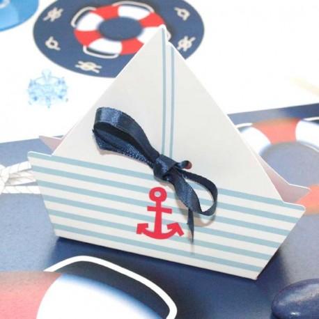 Boite à dragées thème marin
