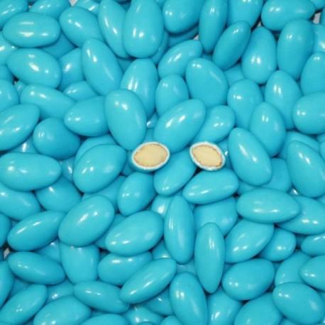 Dragées Amande 45 % Turquoise