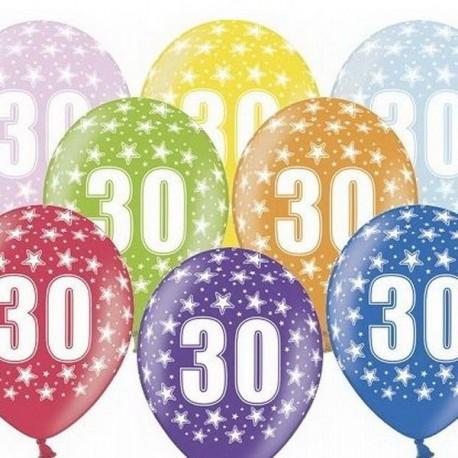 Ballon Gonflable 30 ème Anniversaire