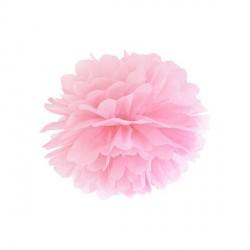 Pompon rose 25 cm