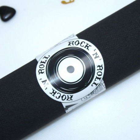 Rond de serviette Rock n Roll