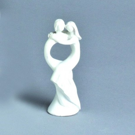 Figurine blanche pour mariage