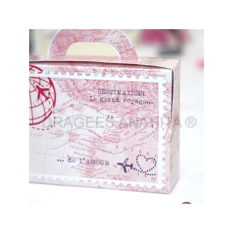 contenant drages valise contenant drages valise - Valise Dragees Mariage