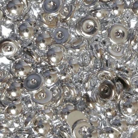 800 Perles de pluie argent