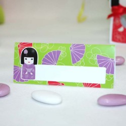 Marque place Kokeshi lilas