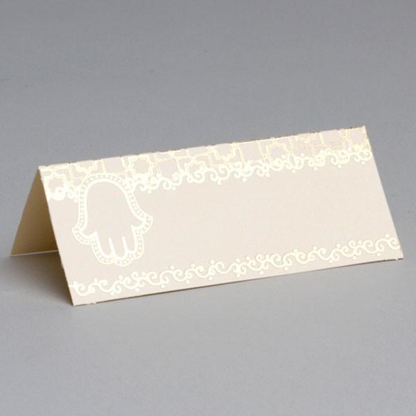 marque place oriental main de fatma ivoire drages anahita - Marque Place Mariage Oriental
