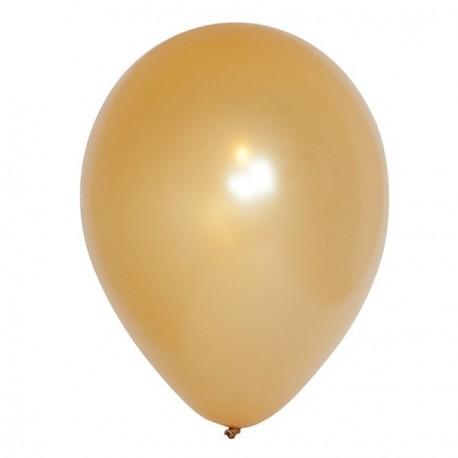 25 Ballons métalisés 30 cm