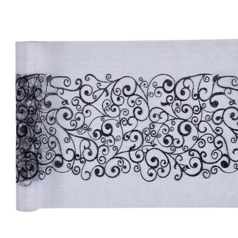 beautiful chemin de table noir #7:  chemin de table baroque