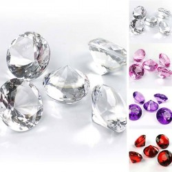 5 gros Diamants de table 30mm