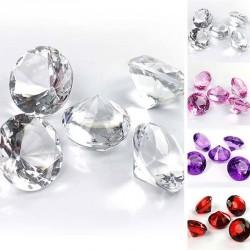 5 gros Diamants de table 30mm