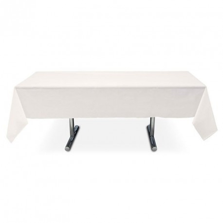 Nappe blanche rectangle pas cher intissé 3 m x 1,5 m