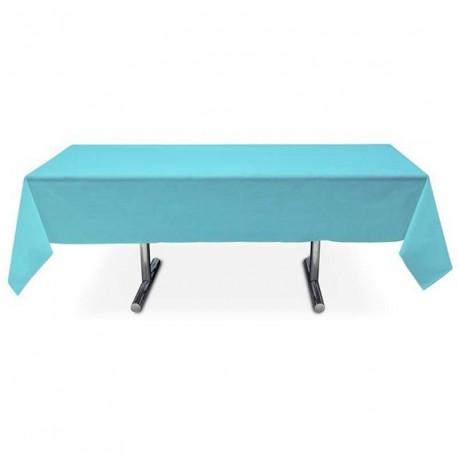 Nappe turquoise rectangle pas cher intissé 3 m x 1.5 m