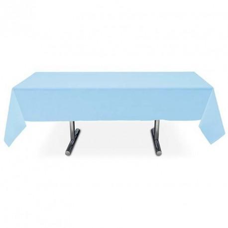 Nappe bleu ciel rectangle pas cher intissé 3 m x 1.5 m