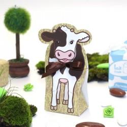 Ballotin à dragées petite vache