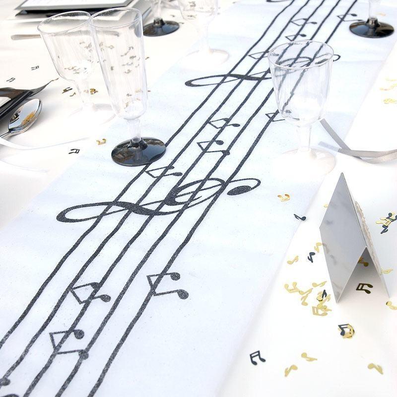 Chemin de table musique drag es anahita for Le chemin de table