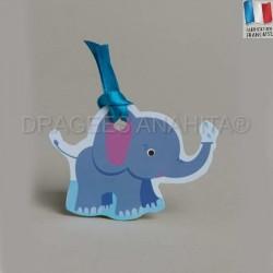 Etiquette porte nom éléphant